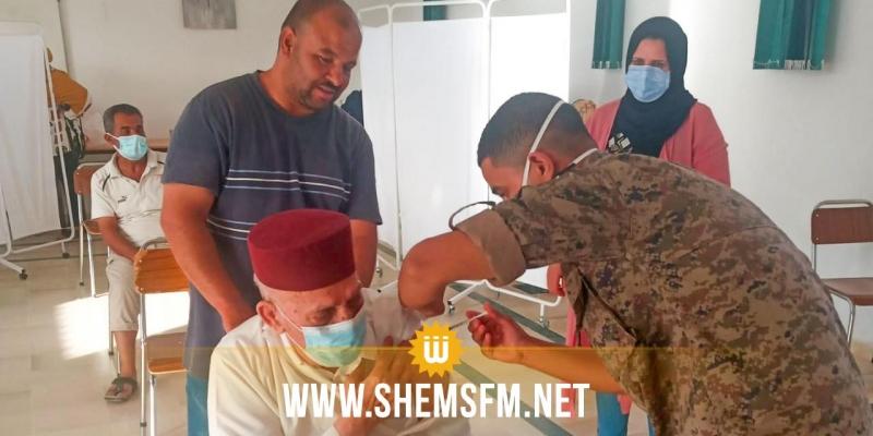 سيدي بوزيد :120055 شخصا تلقوا الجرعة الأولى لقاح كورونا