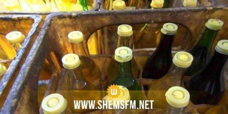 بنزرت: حجز 720 لترا من الزيت النباتي المدعم براس الجبل