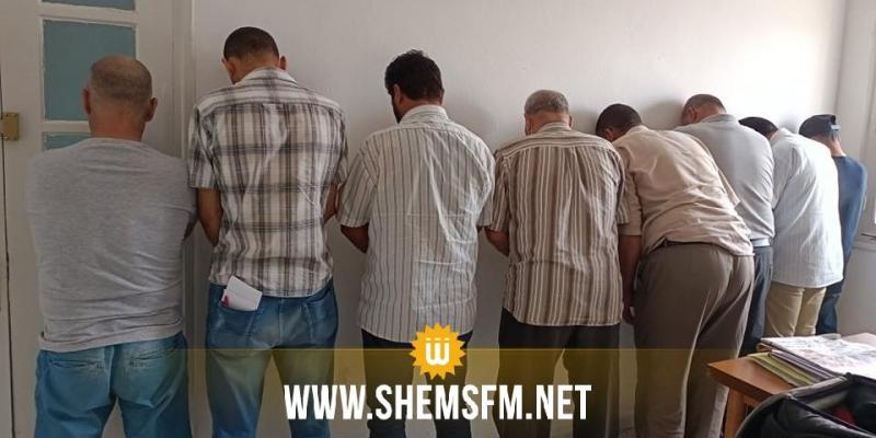 القصرين: القبض على 8 أشخاص  ينشطون في مجال الإتجار بالآثار والعملة الصعبة