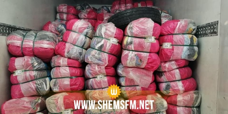 La douane saisit des marchandises de contrebande d'une valeur de 250 mille dt