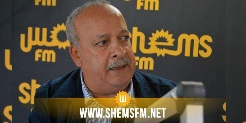 الطاهري: ''عدم تشاور قيس سعيد مع الإتحاد والمنظمات والأحزاب سيؤدي الى إرتكاب الأخطاء''