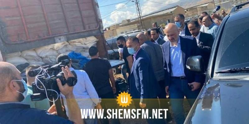 لبنان: ضبط 20 طنا من نيترات الأمونيوم