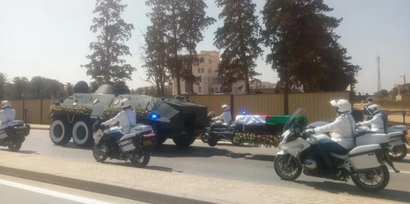 الجزائر: عبد العزيز بوتفليقة يوارى الثرى