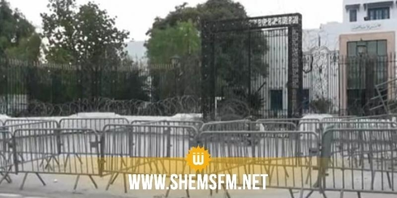 Les employés et cadres au parlement sont interdits d'entrer à l'ARP