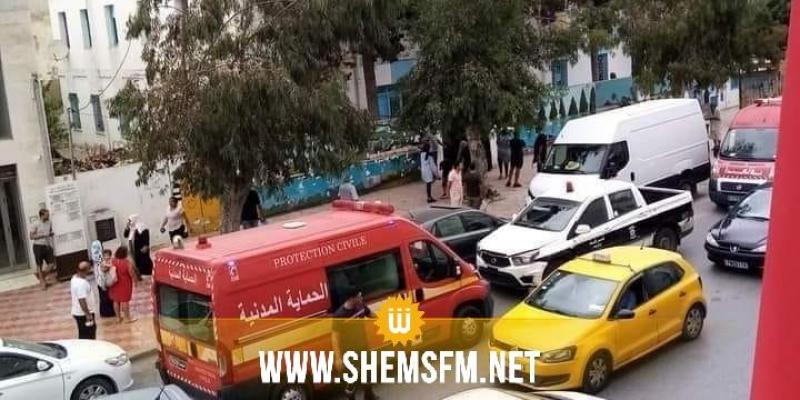 الكرم: سقوط مفاجئ لسقف قسم بمدرسة شارع الحبيب بورڨيبة