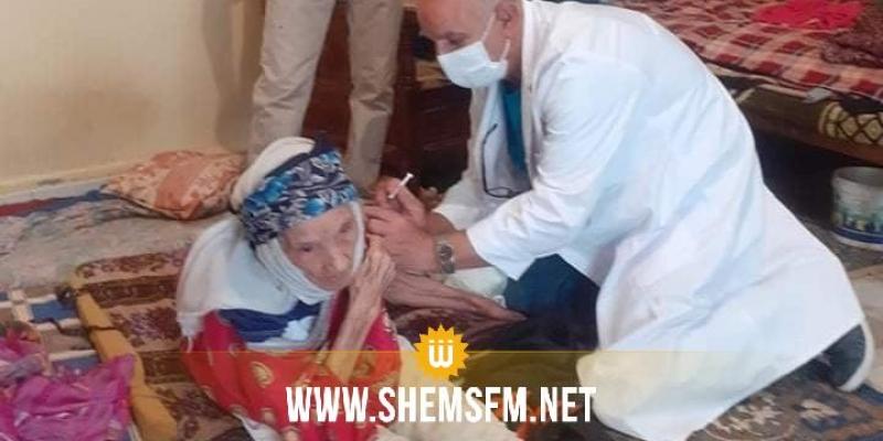 عمرها 118 سنة: تطعيم أكبر معمرة في بنزرت بالجرعة الثانية