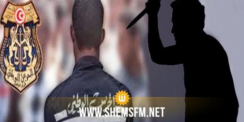 القصرين: تعرّض عون بمركز الحرس الوطني بماجل بلعباس للطّعن