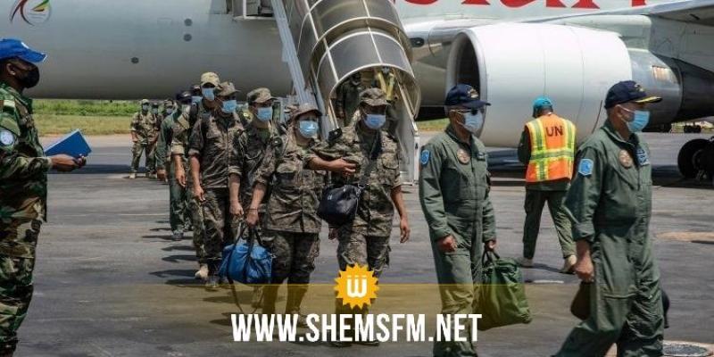البعثة العسكرية التونسية تصل إلى جمهورية إفريقيا الوسطى