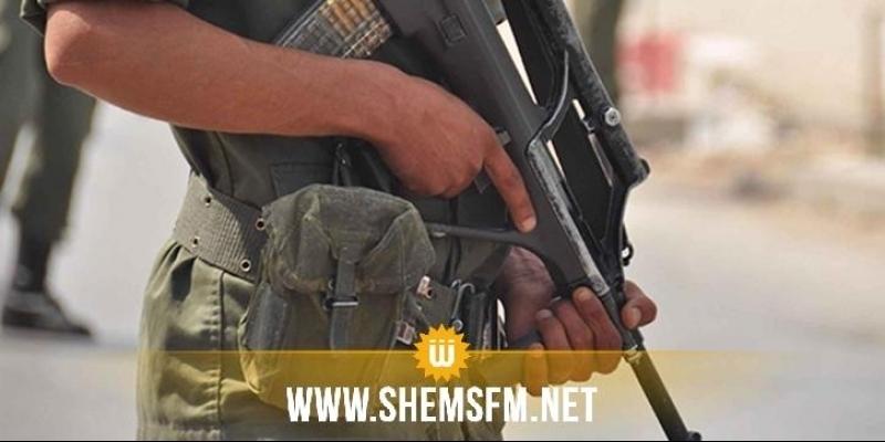 القصرين: إصابة عسكري من سلاحة الخاص