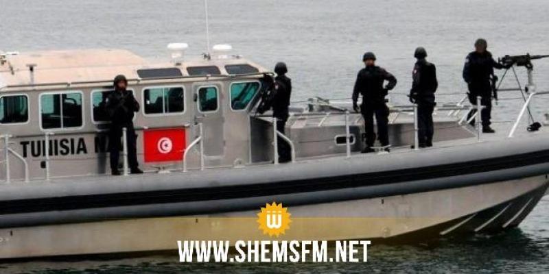 قليبية: جيش البحر يُنقذ 11 مهاجرا