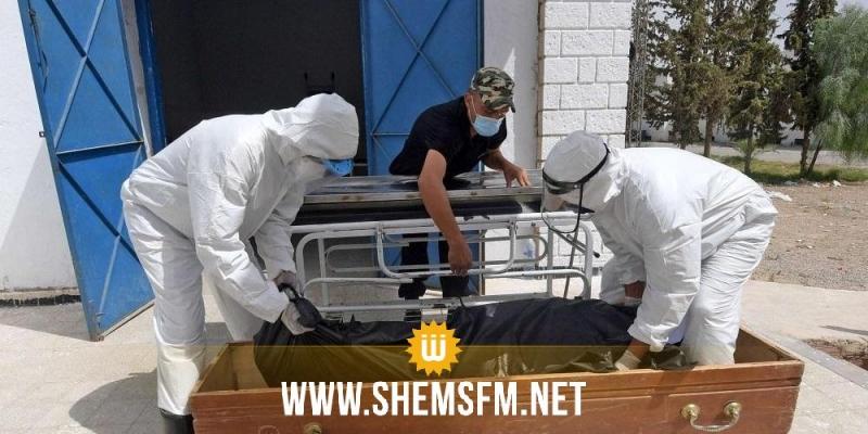 سيدي بوزيد: تسجيل 3 وفيات و72 إصابة جديدة بكورونا