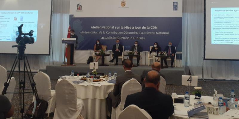 وزارة الشؤون المحلية والبيئة تعلن عن وثيقة تحيين المساهمات المحددة وطنيا حول المناخ