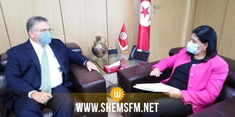 السفير الأمريكي يؤكد مواصلة دعم بلاده لتونس على جميع الأصعدة