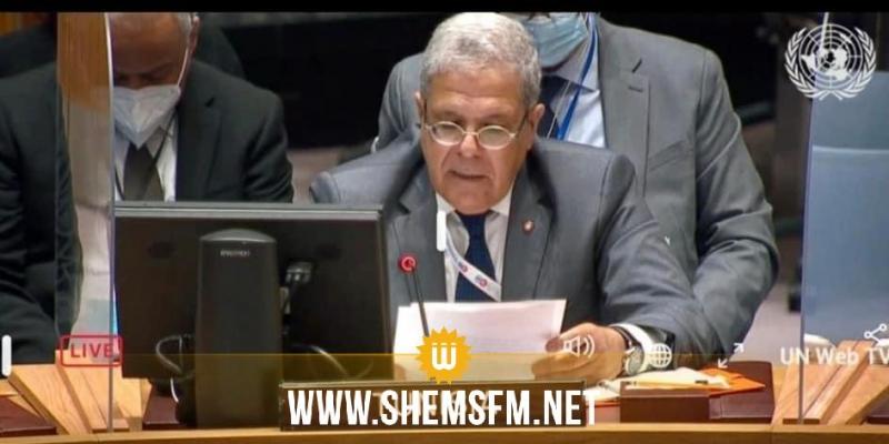 الجرندي يؤكد أهمية دور المنظمات الإقليمية والجامعة العربية في المساعدة على فضّ النزاعات والتوقّي من الأزمات