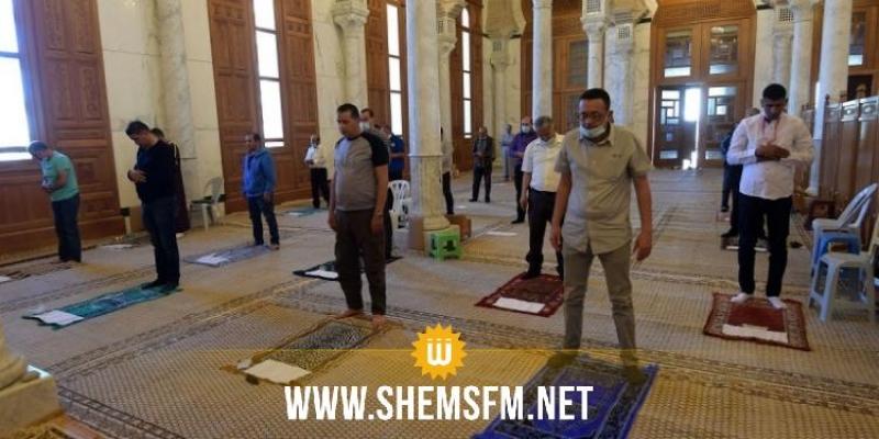 وزارة الشّؤون الدّينيّة تدعو لضرورة التقيّد بالبروتوكول الصحّي داخل المساجد