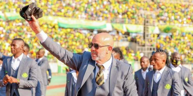 لقب جديد للمدرب التونسي نصر الدين النابي في تنزانيا