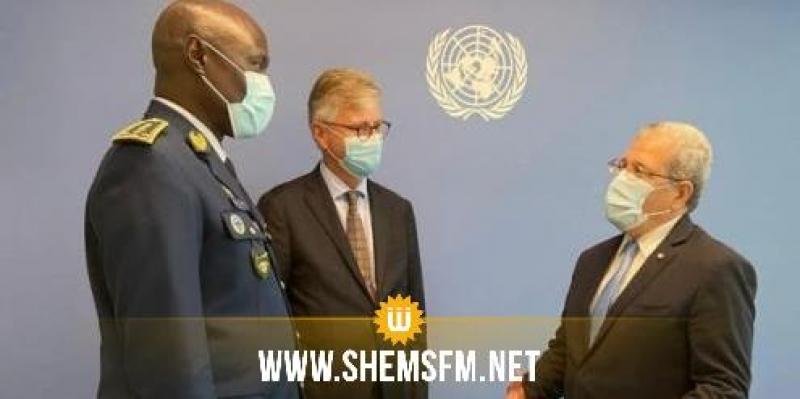 الجرندي لوكيل الأمين العام لعمليات السلام: 'تونس تتطلع لرفع حصتها ضمن عديد البعثات الأممية'