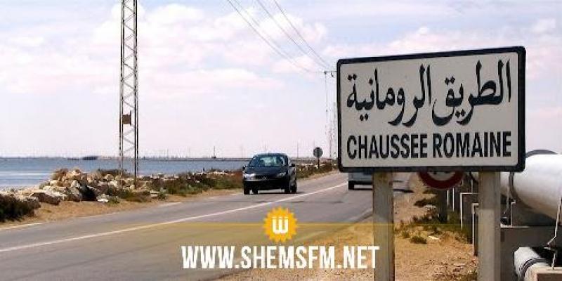 تقدم بـ45% في أشغال تعصير ومضاعفة الطريق الرومانية بين جربة وجرجيس