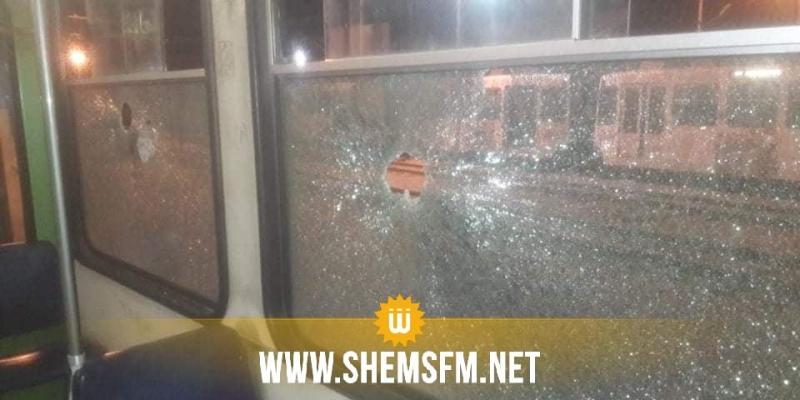 نقل تونس: رشق عربات المترو بالحجارة ساهم في حرمان المواطن من 72 سفرة يوميا