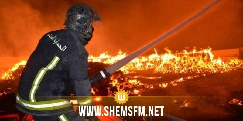 الحماية المدنية: إطفاء 42 حريقا خلال الأربع والعشرين ساعة الماضية