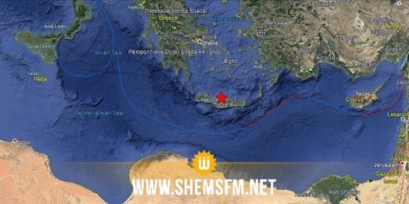 زلزال قوي يهز اليونان
