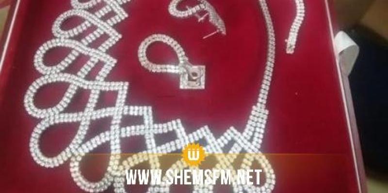 Saisie de bijoux d'une valeur globale de 310 mille dinars à l'Ariana et Kélibia