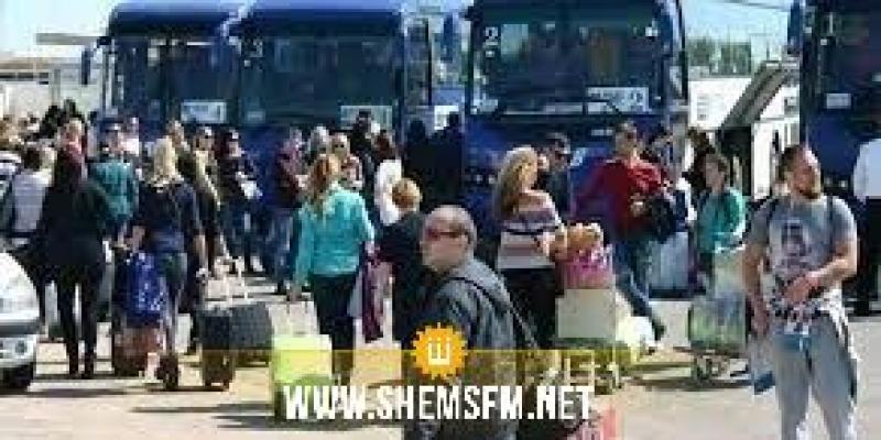 في اليوم العالمي للسياحة: مطار النفيضة يستقبل الاثنين 465 سائحا روسيا