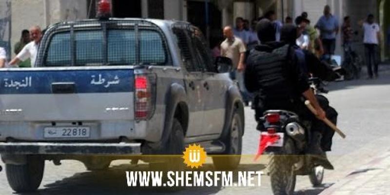 سيدي بوزيد: القبض على شخصين بمحيط المؤسّسات التّربويّة وحجز سيّارة و 5 درّاجات ناريّة