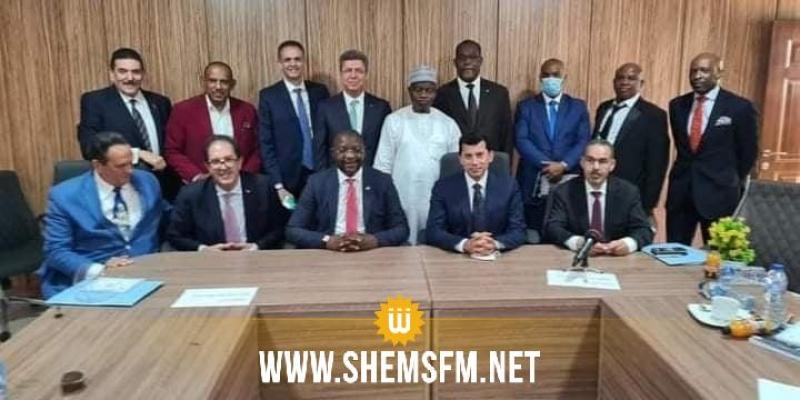 بوصيّان يحضر اجتماعا لوزراء الرياضة الأفارقة