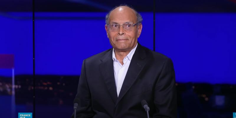 المرزوقي: ''أنا فخور بإحباط عقد القمة الفرنكوفونية التي كان مبرمج تنظيمها في تونس ''