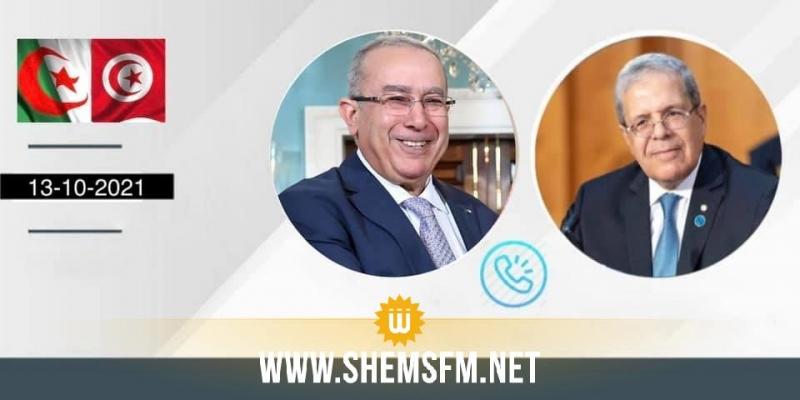 الجرندي ولعمامرة يؤكدان على على أهمية التحضير الجيد لإنجاح المواعيد القارية القادمة خاصة مؤتمر 'مبادرة استقرار ليبيا'