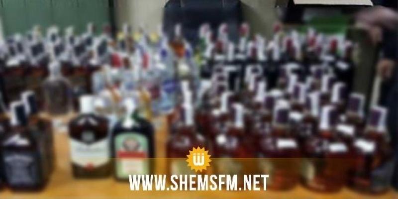 سليانة: حجز 3798 علبة من المشروبات الكحولية بمدينة مكثر