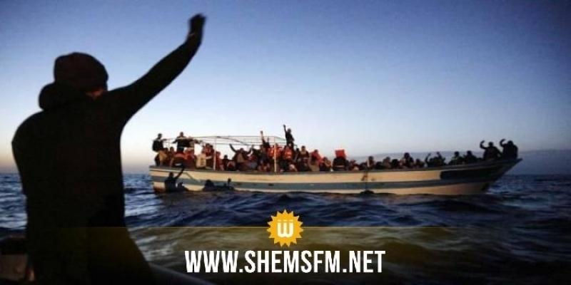 جيش البحر ينقذ 123 مهاجرا سرّيا