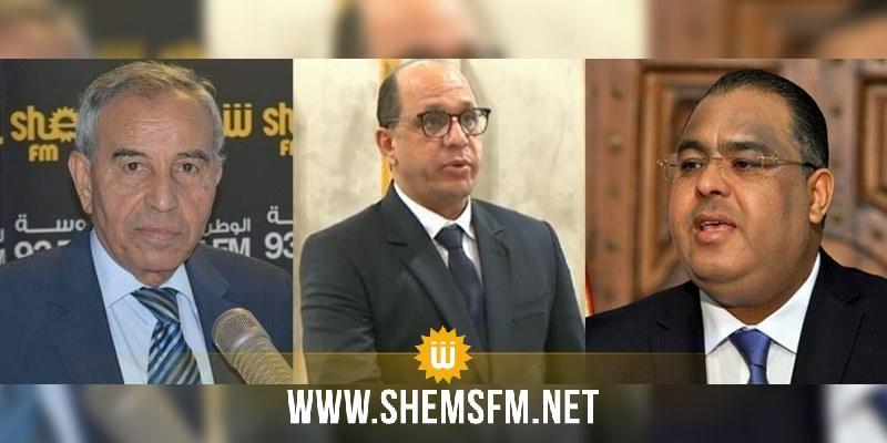 محامي وزير الشؤون الإجتماعية وعبد الله العبيدي ومحسن حسن ضيوف ستوديو شمس