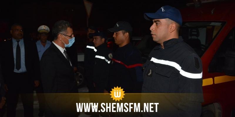 بنزرت: وزير الداخلية يتفقد الإجراءات الأمنية بمناسبة احياء الذكرى 58 لعيد الجلاء