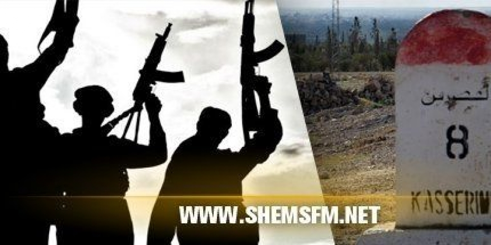 Kasserine : un groupe terroriste attaque une maison et s'empare des provisions